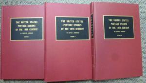 3 vol. Brookman U.S. Postage Stamps of 19th century  1966-67 Edition