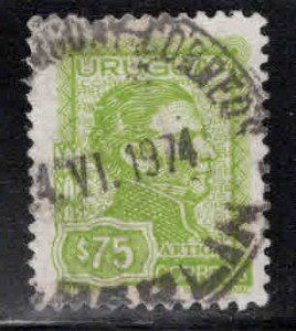 Uruguay Scott 844 Used Artigas stamp