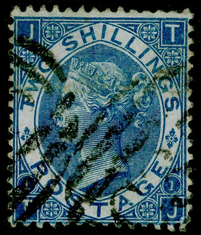 SG118, 2s dull blue, FINE USED. Cat £140. C35 PANAMA. TJ