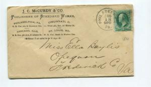 3 cent banknote (1880s) STANDARD WORKS PUBLISHER Advertising Cover