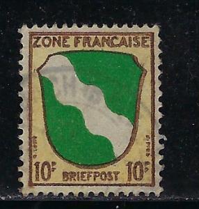 Germany - under French occupation - Scott # 4N5, used