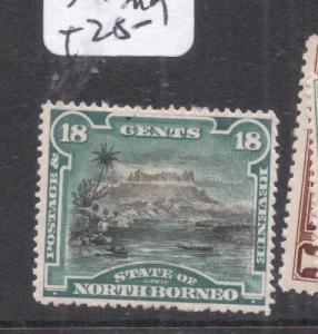 North Borneo SG 78 MOG (10dnm)