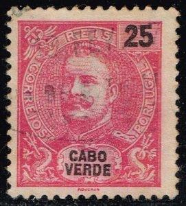 Cape Verde #43 King Carlos I; Used (0.40)