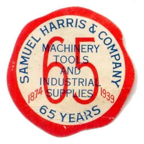 Samuel Harris & Company Advertising Poster Stamp