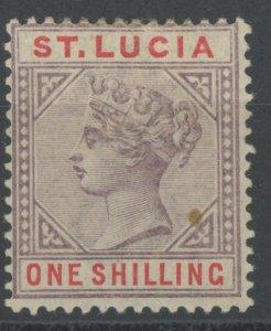 St. Lucia 35 * mint HR (2107 135)