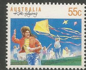 AUSTRALIA  1110  MNH,  KITE FLYING