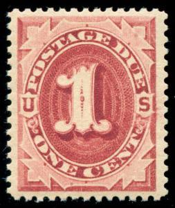 momen: US Stamps #J22 Mint OG NH XF