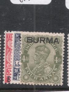 Burma SG 7-9 MOG (6dku)