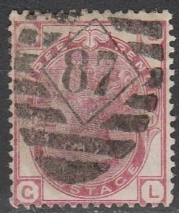 Great Britain #61 Plate 11 F-VF Used CV $50.00  (A2988)