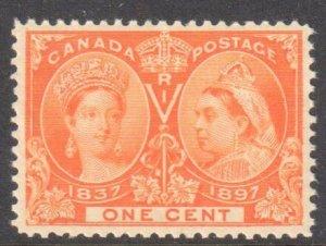 Canada #51 Mint XF NH Jubilee $120.00