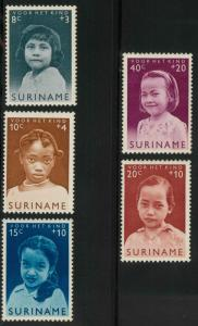 Surinam B94-B98 Mint VF H