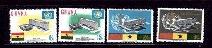 Ghana 247-50 MNH 1966 World Health Organization