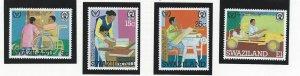 Swaziland  mnh sc. 395 - 398