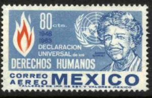 MEXICO C280, Eleanor Roosevelt Human Rights Anniv. MINT, NH. VF
