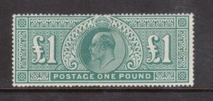Great Britain #142 (SG #266) Mint Fine Full Original Gum Hinged