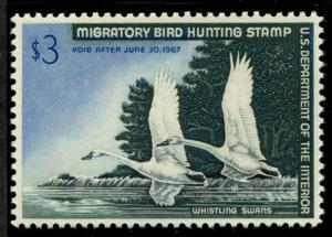 United States RW33 Mint NH VF-XF