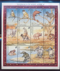 Gambia Stamps Scott #1358 To 1359, Mint Never Hinged - Free U.S. Shipping, Fr...