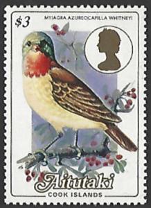 Aitutaki #338 MNH Single Stamp cv $5.25