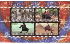 Animal Transport -  Sheet of 4  - SV0560