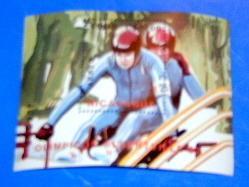 Nicaragua - C1179, MNH S/S. Winter Olympics. SCV - $3.75