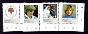 Falkland Is Dep 1L72-75 MNH 1982 Diana