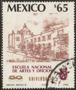 MEXICO 1432, National Polytechnic Institute 50th Anniv. Used F-VF (1231)