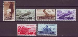 J21557 Jlstamps 1934 italy part of set mh #331-2,335-8 military