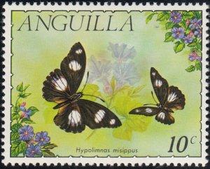 Anguilla 1971 MH Sc #123 10c Hypolimnas misippus Butterflies