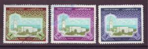 J14937 JLstamps 1981 kuwait some hv,s of set used #868-70 sief palace