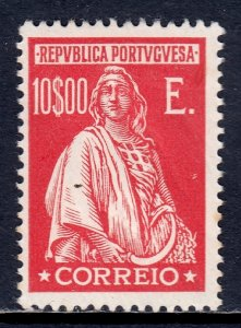 Portugal - Scott #421 - MH - Indentation from writing, soiling spot - SCV $8.75