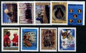 HERRICKSTAMP NEW ISSUES HONDURAS Sc.# C1390-98 Tegucigalpa Archdiocese