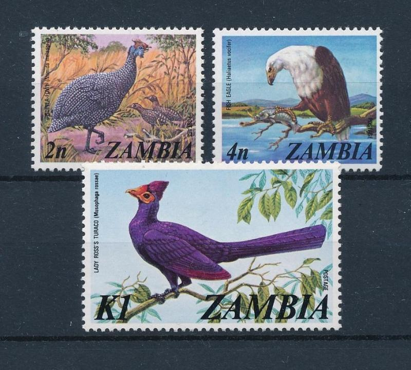 [51139] Zambia 1975 Birds Vögel Oiseaux Ucelli  from set MNH