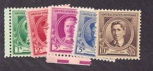 879-883 Mint,OG,NH... Complete Set... SCV $5.00