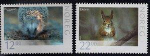 Norway Scott 1498-1499  MNH** Wildlife set