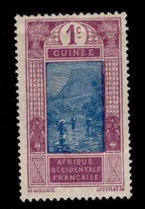 FRENCH GUINEA Scott  63 MH*stamp expect similar centering