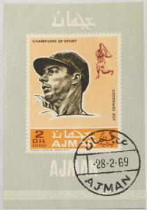 Baseball, Joe DiMaggio 1969  Ajman