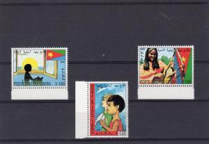 Eritrea Libera 1978 Eritrea of the Future/Birds/Children's Set (3) MNH VF