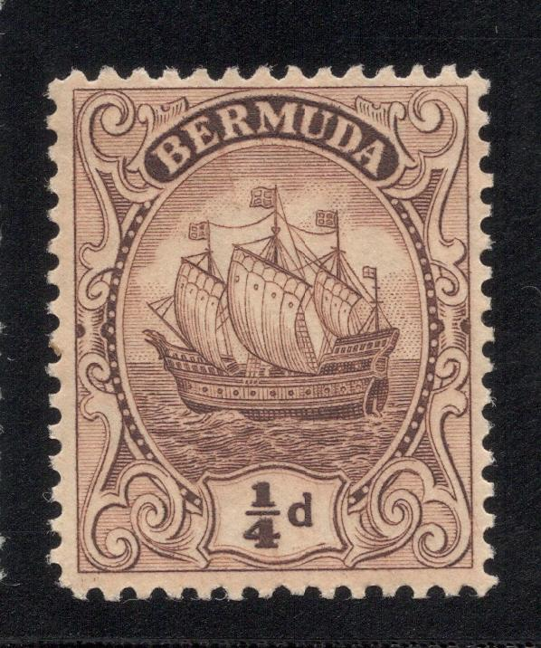 Bermuda #81 Brown - Unused - O.G. - L.H.