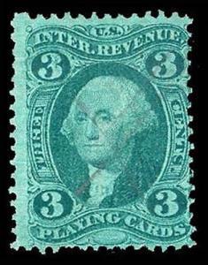 U.S. REV. FIRST ISSUE R17c  Used (ID # 87515)