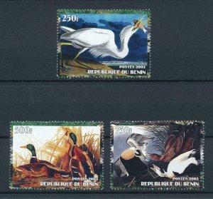 [105350] Benin private issue 2003 Birds vögel oiseaux ducks  MNH