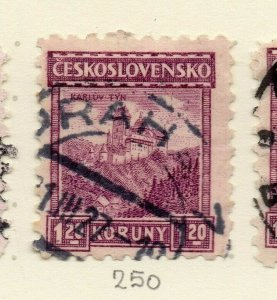 Czechoslovakia 1926-27 Issue Fine Used 1.20k. NW-148599