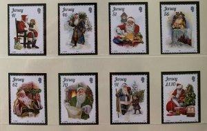 JE48) Jersey 2014 Christmas set of 8  MUH