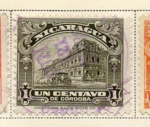 Nicaragua 1928 Early Issue Fine Used 1c. 323661