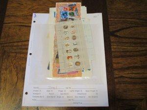 Israel Souvenir Sheet Lot Mint Never Hinged- (KB8) WDWPhilatelic #1