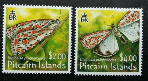 Pitcairn Islands Moth 2007 Butterfly Insect (stamp) MNH