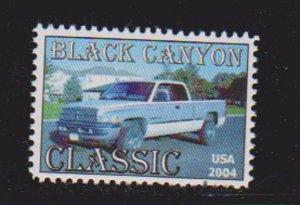 USA BLACK CANYON CLASSIC 2004  CINDERELLA STAMPS.LOT#164