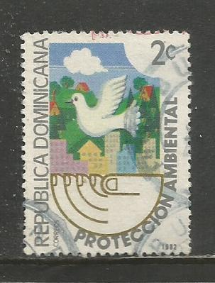Dominican Rep.   #872  Used  (1982)