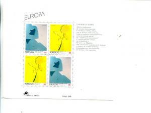 Portugal  Madeira 1993 Europa mini sheet   Mint VF NH