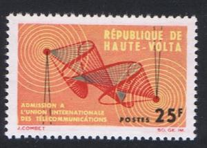 Upper Volta Admission to ITU 1v 1964 MNH SG#139