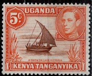 Kenya Uganda & Tanzania; 1950: Sc. # 68a: */MH Single Stamp